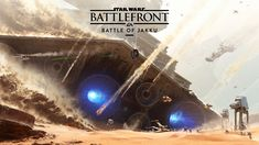 Exhilarating STAR WARS BATTLEFRONT Concept Art for The Battle of Jakku — GeekTyrant