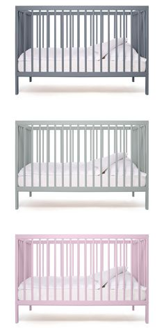 Modern Baby Cot by Bodie and Fou, as featured on Bobby Rabbit