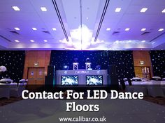 When it comes to LED dance floors, don't think much? Contact Calibar Events. Our LED dance floors are perfect to hire for all occasions.