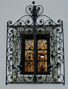 wrought iron screen by petalpress