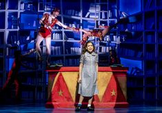 """""""A little bit naughty"""": Matilda rewrites her story in the hit musical opening at the Citadel Matilda Cast, Matilda Broadway, George M Cohan, Miss Trunchbull, Matilda Costume, Dance Background, Modern Feminism, Royal Shakespeare Company, Harry Belafonte"""