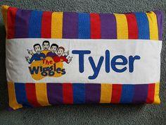 Wiggles pillowcase www.facebook.com/KATNAPquilts