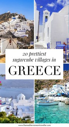Looking to visit Greece's iconic Cycladic villages with their dazzling whitewashed walls, blue domes, pretty chapels and shimmering azure seas? Here are 20 of the most beautiful villages to discover, from the famous Oia and Mykonos Chora to to hidden gems like Kimolos, Loutro, and Koufonisia. #greece #greekislands #europe #travel #tmtb Europe Travel Guide, Europe Destinations, Travel Abroad, New Travel, Summer Travel, Summer Europe, Travel Pics, Greek Island Hopping, Mykonos Greece