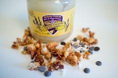 Granola réalisé par Charline, alias la Godiche, avec le miel de lavande