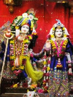 Today's Darshan (22nd Aug, 2012) Sri Sri Radha Kunjabihai @ISKCONPune