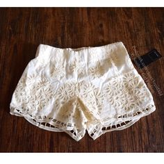 "DOLCE VITA Shorts Embroidered Eyelet Wira Mini Size XS. New With Tags. $154 Retail + Tax.   Gorgeous cotton and silk lined shorts.  Elastic waistband.  Ivory, cream. Cotton, silk, polyester, spandex.    Measurements for Size XS: Length: 12"" Rise: 9.5"" Inseam: 3.5"" Waist: 25""   ❗️ Please - no trades, PP, holds, or Modeling.    Bundle 2+ items for a 20% discount!    Stop by my closet for even more items from this brand!  ✔️ Items are priced to sell, however reasonable offers are considered…"
