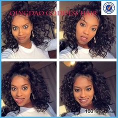 Hot glueless curly full lace wigs human hair virgin brazilian short curly human hair wigs updo natural black lace wig bob style
