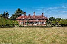 Roger Moore's sprawling 11-acre property, Sherwood House, which he lived in for eight years, has gone on sale for a cool £5million