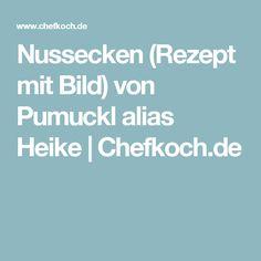 Nussecken (Rezept mit Bild) von Pumuckl alias Heike | Chefkoch.de