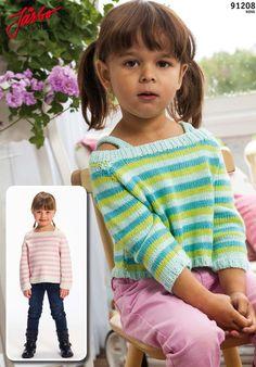 Lovely striped Raglan sweater.