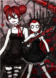 Yuu and Yuki by DemiseMAN.deviantart.com on @deviantART