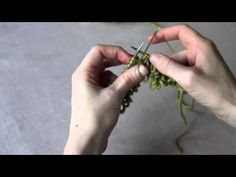 ▶ How to Knit Loopy Stitch - The Easy Way, Tutorial by Jessica Joy - YouTube