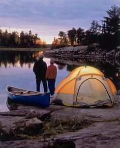 Boundary Waters Canoe Area Wilderness Ely, Minnesota, U.S.A.
