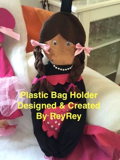 By Designed and Created By ReyRey Pe Bags, Plastic Bag Holders, Pj, Crochet Hats, Create, Kids, Design, Knitting Hats, Young Children