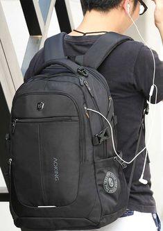 Trendy Backpacks 2018 , New Brand Men Backpack Light Comfort Fashion Urban Backpack for 15 inch Laptop Breathable Rucksack Mochila School bag.