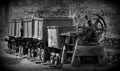 Old Mining Cars From Days Gone By