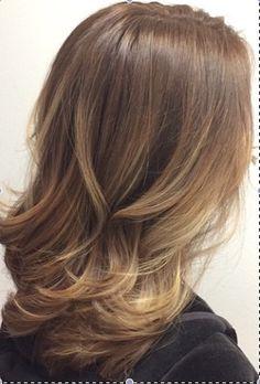 balayage light brown hair - Pesquisa Google