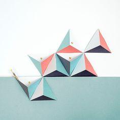 Tri-Angles #4 - Papier Tigre
