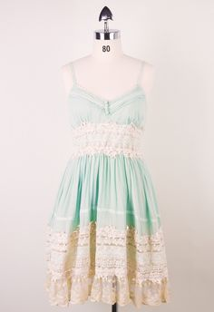 Got a Date Mint Lace Dress - Back in stock - Retro, Indie and Unique Fashion