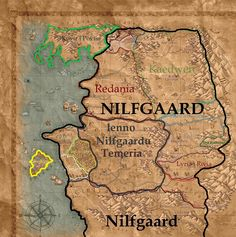 The world of the witcher the witcher pinterest wild hunt borders if the nilfgaard wins the third northern war gumiabroncs Images