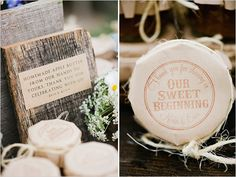 homemade apple butter wedding favors