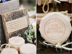 homemade apple butter wedding favors