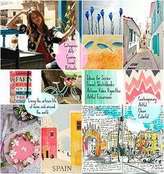 Dream Blog Mood Board by SilkyHart, decor8eclasses.com #blogboss