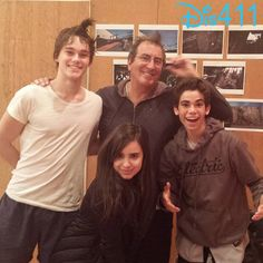 "Photo: Cameron Boyce With Sofia Carson On Location For ""Descendants"" May 8, 2014"