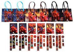 Disney Big Hero 6 Party Favor Stationery Set - 6 Packs (54 Pcs) GoodyPlus http://www.amazon.com/dp/B00RDJ5IW6/ref=cm_sw_r_pi_dp_dJ9wwb17XGFED