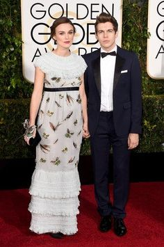 72nd Golden Globe Groom Tuxedos Navy Blue Best Man Suit Notch Lapel Groom Wear Men's Wedding Suit (Jacket+Pants)