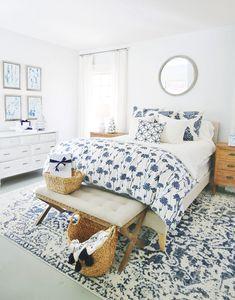 White Bedroom Decor, Bedroom Themes, Bedrooms, Bedroom Ideas, Bedroom Inspo, Farmhouse Master Bedroom, Master Bedroom Makeover, Modern Bedroom Design, Cottage