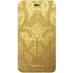 Christian Lacroix Folio Cover Paseo Embossed - iPhone 6 ($54) ❤ liked on Polyvore featuring accessories, tech accessories and christian lacroix