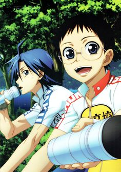 Manami & Onoda | Yowamushi Pedal