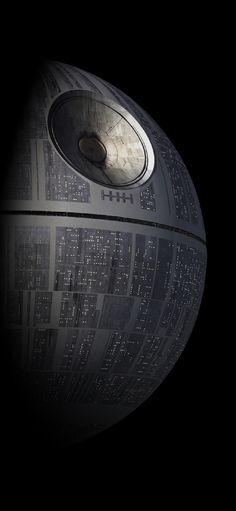 Wallpaper iOS Death Star