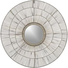 Cali Mirror in Wall Mirrors   Crate and Barrel $129