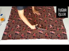 Çok Pratik Şalvar Kesimi ve Dikimi | Tuğba İşler - YouTube Sewing Patterns Free, Free Pattern, Hat Patterns, Sewing Baby Clothes, Classy Dress, Etsy Handmade, Dressmaking, Pajama Pants, Boho