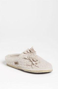 Haflinger 'Romantic Flowers' Slipper on shopstyle.com