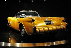**World's rarest car. 1954 Concept Old's Rocket F-88 - the only one in existence.