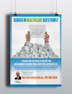 Insurance Ad I did for an health insurance agent, for sample purpose only. By Courtney Martinez