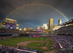 sky line of minneapolis target field all star game - Google Search