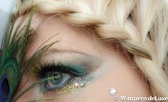 Mega Look mit Wimpernextensions