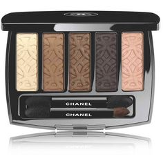 CHANEL LES 5 OMBRES DE CHANEL - COLLECTION LES AUTOMNALESEyeshadow... (535 CNY) ❤ liked on Polyvore featuring beauty products, makeup, eye makeup, eyeshadow, beauty, cosmetics, eye shadow, entrelacs, chanel eye shadow and chanel eye makeup