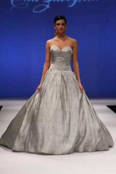 Olia Zavozinas Fall Olia Zavozinas gowns are known for possessing classic, clean lines and an heir of romance. Wedding dresses for 2014 brides Trendy Dresses, Formal Dresses, Poodle Grooming, Alternative Wedding Dresses, Wedding Dresses 2014, Dress Collection, Ball Gowns, Bride, Grey