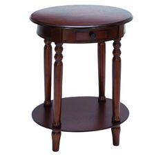 "Woodland Imports End Table I | Wayfair $117 - 27"" H x 20"" W x 16"" D"