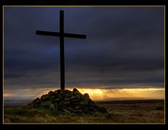 On a hill far away - stood an old rugged cross.....