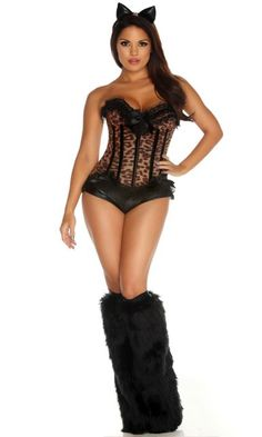 9 Lives - Sexy Cat Costume  sc 1 st  Pinterest & 2401 best Womenu0027s Costumes images on Pinterest | Ninja costumes ...
