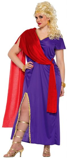 68ebe86a9895a Women's Plus Roman Empress Costume - Candy Apple Costumes Halloween Costumes  Plus Size, Plus Size