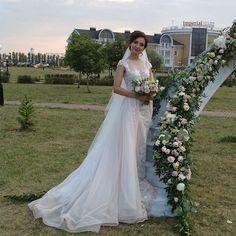 #безфильтров .✨Красавица -  невеста Светлана.✨Место: @aleks_park73 . Флористика…