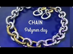 Let's play with Clay with me! In my video you will learn how to make Easy Clay Chain Necklace and Earrings of Polymer Clay. Clay Crafts For Kids, Construction Paper Crafts, Sculpey Clay, How To Make Clay, Metal Clay Jewelry, Precious Metal Clay, Clay Ornaments, Polymer Clay Necklace, Clay Tutorials