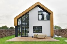 Een huis met karakter Build My Own House, Best Tiny House, Facade House, House Made, Gazebo, Modern, Around The Worlds, Exterior, Outdoor Structures